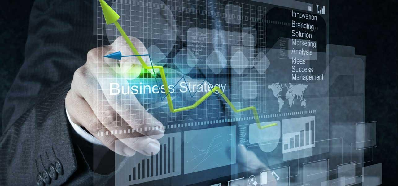 futuristic business strategy image